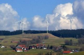 Деревня Вильдпольдсрид в Германии является электрическим донором