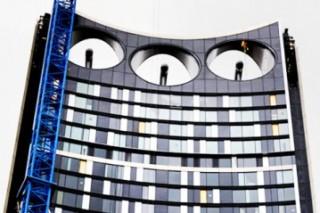 В Лондоне осуществляет работу небоскрёб с ветроэлектростанцией