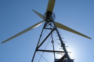 Двухлопастная ветроэлектростанция будет построена в Шотландии