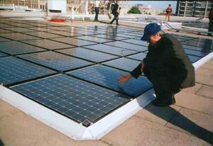 Солнечная электрическая станция на территории Белгородской области — первая подобная станция в Российской Федерации