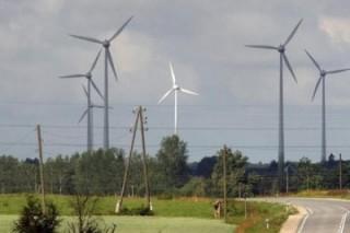 В ФРГ запущен ветряной энергетический парк
