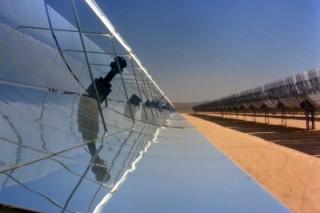 В Китае запущена одна из крупных солнечных электростанций