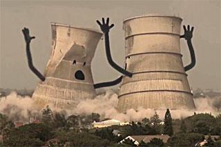 Разрушайте трубы, переходите на зелёные источники энергии