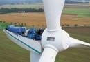 В Шотландии возведена ветроустановка с вертолётной площадкой