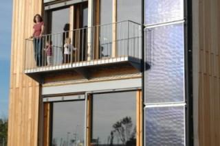 Благодаря дизайну, использование энергии в доме снизилось на 90%