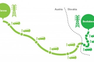 Между Веной и Братиславой построят дорогу для электромобилей