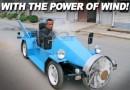 Перезарядка электроаккумулятора при помощи ветряной турбины