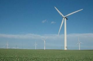 Ветровая энергия Украины: ферма в Крыму