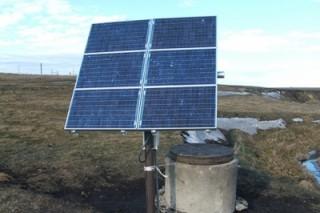 Солнечные системы подают воду пожарным