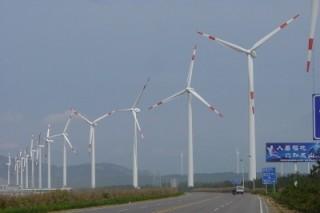 Ветряная ферма в Китае