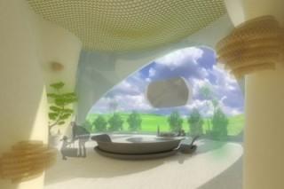Ветрогенератор и дом – одно целое. Ветроздания. Часть 1
