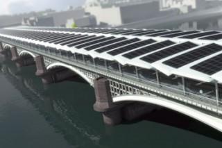 Самый большой в мире «солнечный» мост наполовину готов