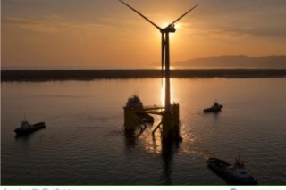 В Португалии установлена и сертифицирована первая морская ветряная турбина