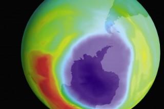 Озоновый слой восстановится не раньше, чем через 40 лет