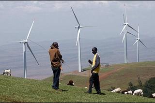 Энергия ветра в Кении: кредит для ветропарка Ngong Hills