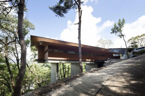 Дом у горы Асама