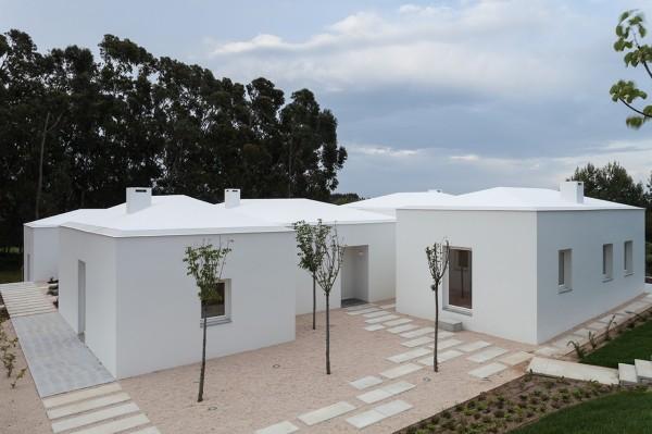 Загородный дом в португальском стиле.