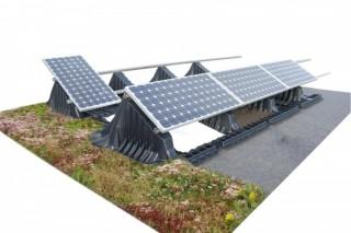 Солнечные панели спасутся от перегрева озеленением крыш