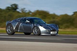 Электромобиль 'Nemesis' побил рекорд скорости в Великобритании