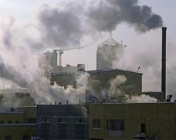 Рекордные показатели загрязнения земной атмосферы
