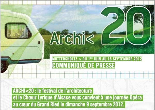 Фестиваль проходил с 1 июня по 15 сентября в окрестностях эльзасской деревни Муттершольц, Франция