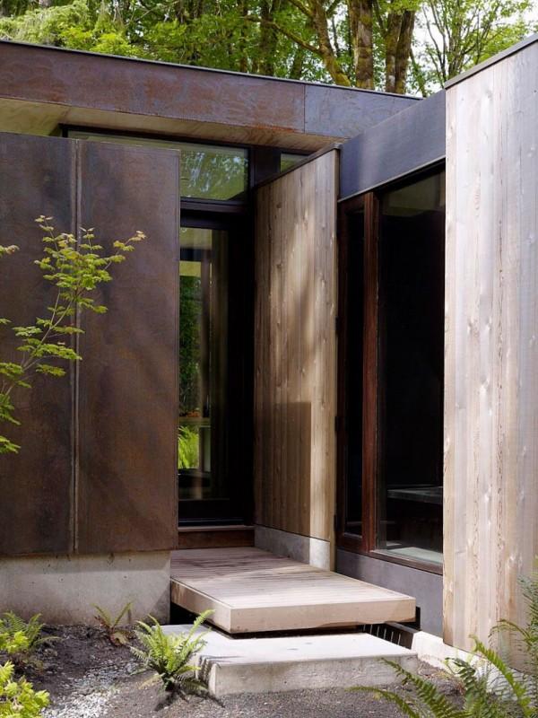 В лесной тиши: дом на Пьюджет-Саунд