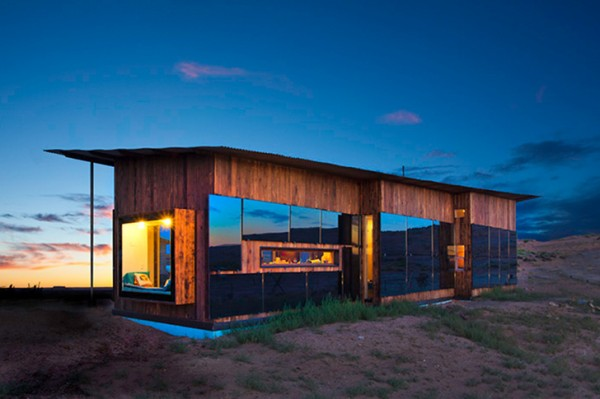 Лорейн Накай, которая будет жить в этом доме, принимала активное участие в его проектировании и строительстве