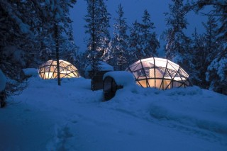 Деревня Иглу: гостиница по-эскимосски