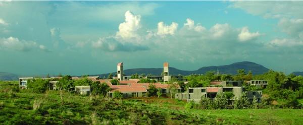 Экодизайн в Индии: школа-пансионат
