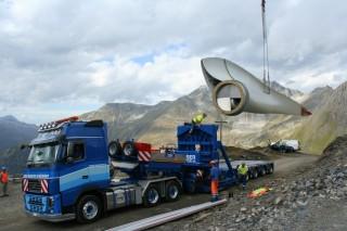 Мобильная ветряная электростанция для выработки чистой энергии