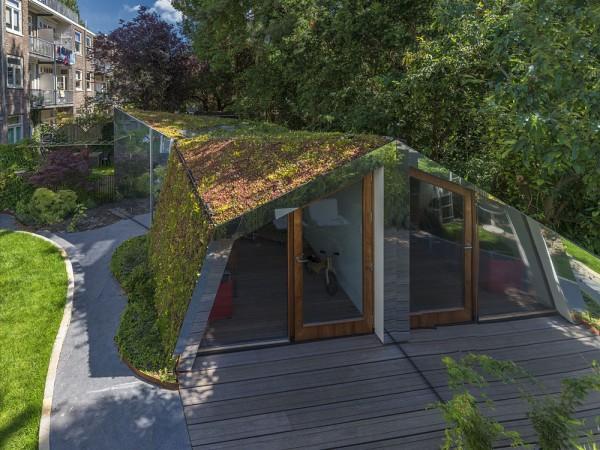Садовый домик в Амстердаме