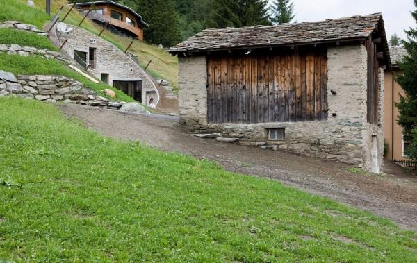 Коттедж в Швейцарии: поближе к земле
