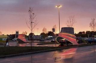 Развлекательные станции для подзарядки автомобилей появятся в США