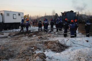 Во Владимирской области на площади, равной 1000 квадратных метров, разлилась нефть