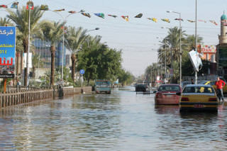 В Багдаде за тридцать лет произошло крупнейшее наводнение