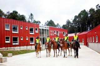 Департамент конной полиции в Колумбии