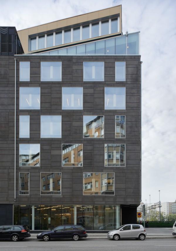 Дом-утюг в Стокгольме