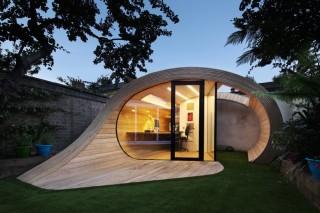 Домашний офис на заднем дворе