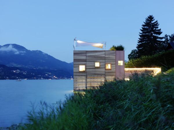 Энергоэффективный дом на воде