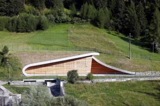 Изящная ГЭС в Италии