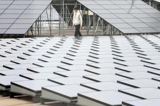 Вместо аэропорта солнечная электростанция