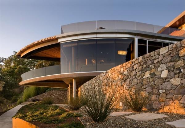 Дом расположен в городке Биг-Сюр, штат Калифорния