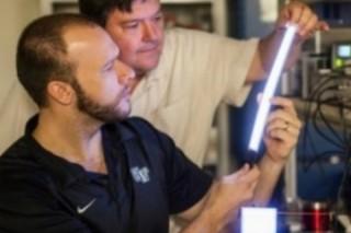 Органические полимеры могут заменить  люминесцентные лампы