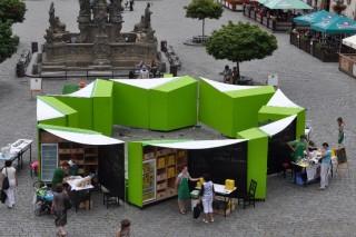 Торговые палатки для «зеленых» рынков