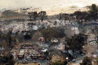 На Тасмании локализованы многочисленные лесные пожары