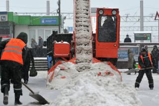 Московский снегопад, возможно, принесет половину месячной нормы осадков