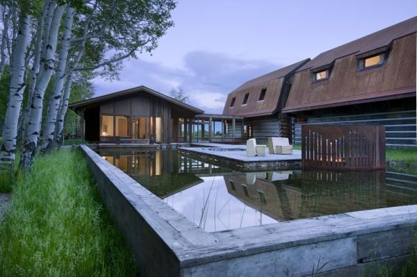 Частная резиденция в Вайоминге