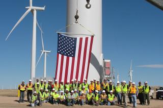 В 2012 году в США установили 13,2 ГВт энергии ветра