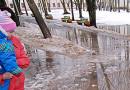 В Центральной части России весна начнется со снежной бури, об этом заявляют синоптики