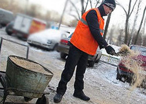 Экологи заявили, что улицы Москвы посыпаются радиоактивными веществами, период распада которых составляет 1,3 миллиарда лет
